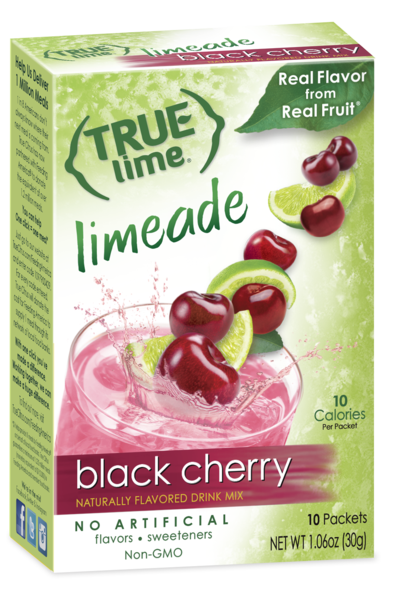 True Lime Black Cherry Limeade 10-Count