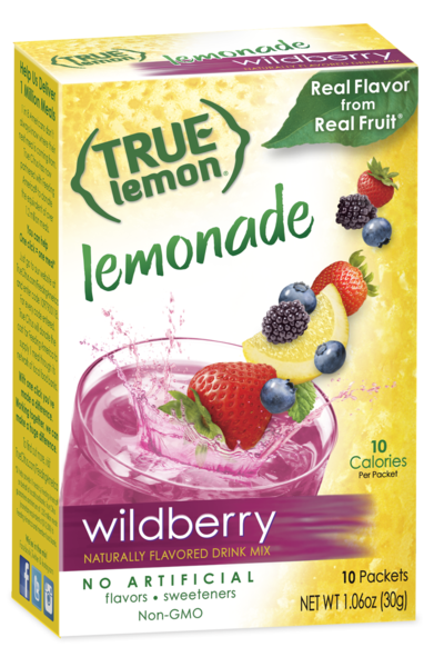 True Lemon Wildberry Lemonade 10-Count