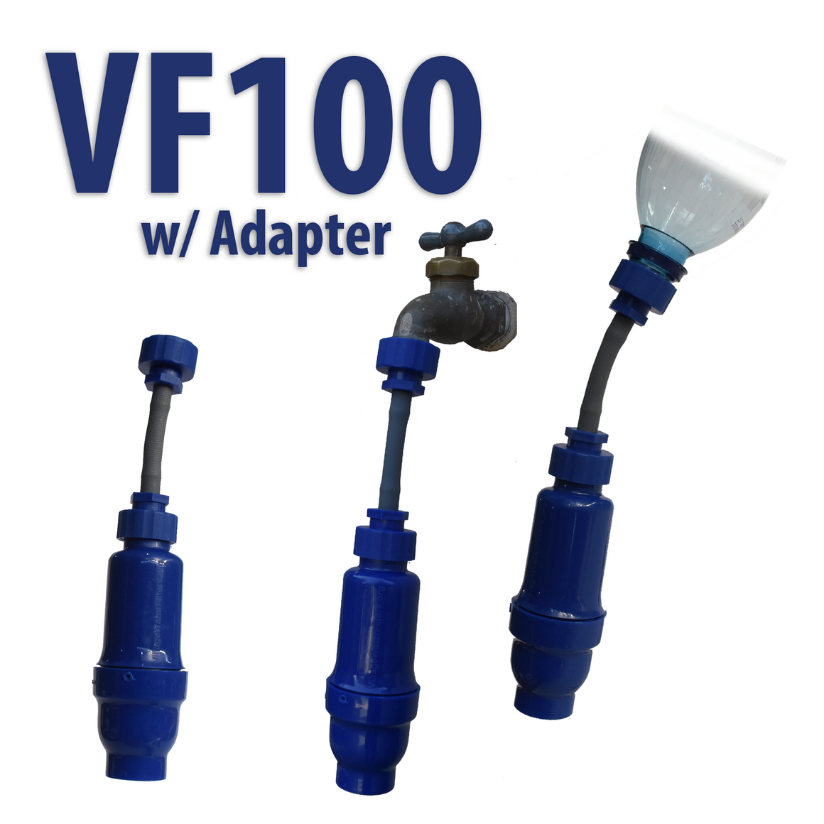 VF100 Water Filter incl. VF200 Carbon Pre-Filter and Bucket Kit