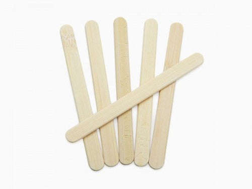 Onyx Bamboo Ice Pop Sticks, 24-Pack