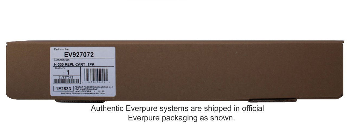 Everpure H-300 Replacement Water Filter Cartridge Shipping Box 2