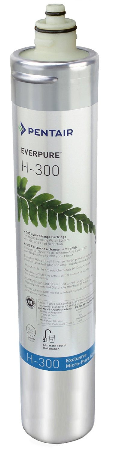 Everpure H-300 Water Filtration System Replacement Cartridge