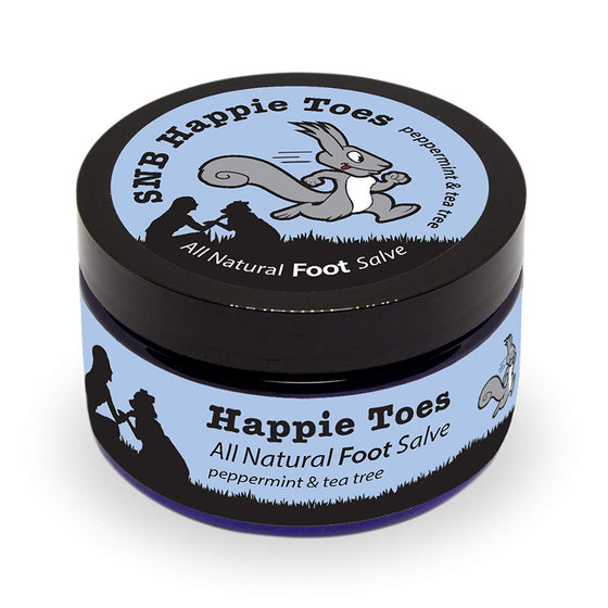 Squirrel's Nut Butter Happie Toes All Natural Foot Salve
