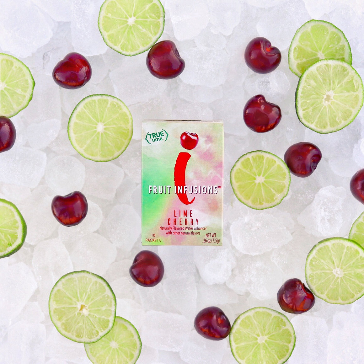 True Lemon Fruit Infusions Lime Cherry 10-Count