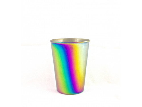 Onyx Stainless Steel Kids Tumbler Cup, 9oz - Rainbow