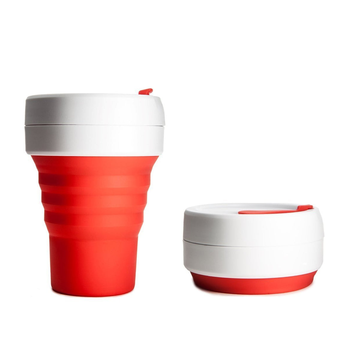 Stojo Collapsible Silicone Pocket Cup, 355ml (12oz)