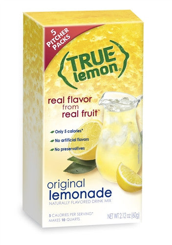 True Lemon Original Lemonade 2 Litre 5-Count