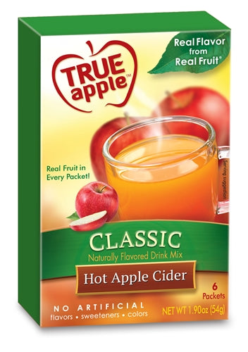 True Apple Hot Apple Cider, Classic 6-Count