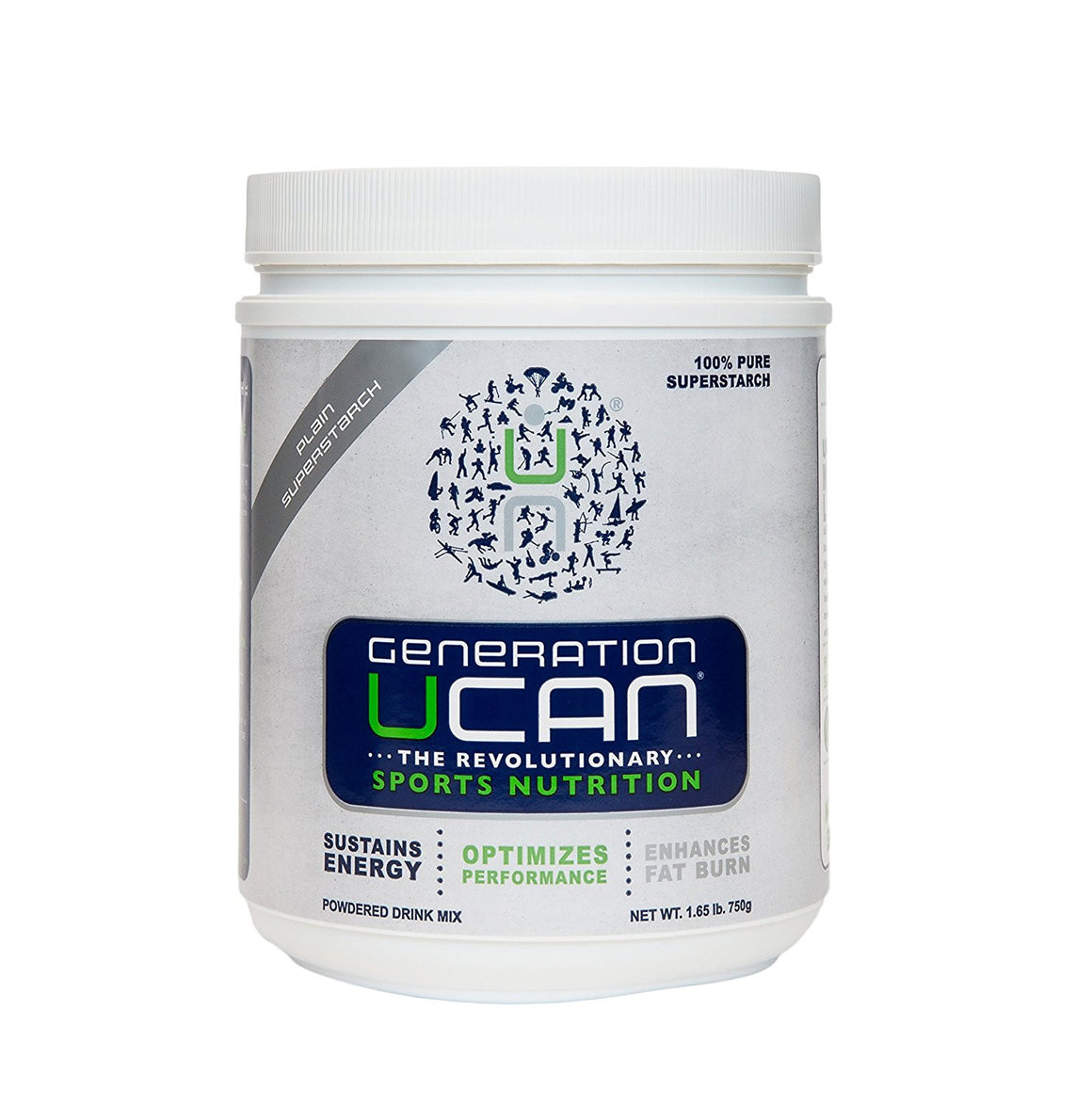 Generation UCAN SuperStarch Drink Mix - Tubs