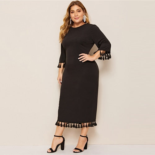 Boston Plus Size Long Party Dress