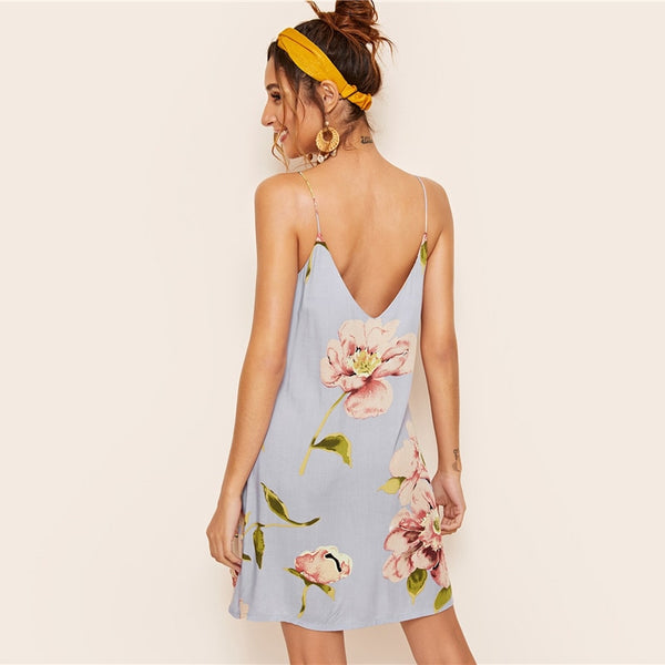 Cabarita Floral Print Summer Dress