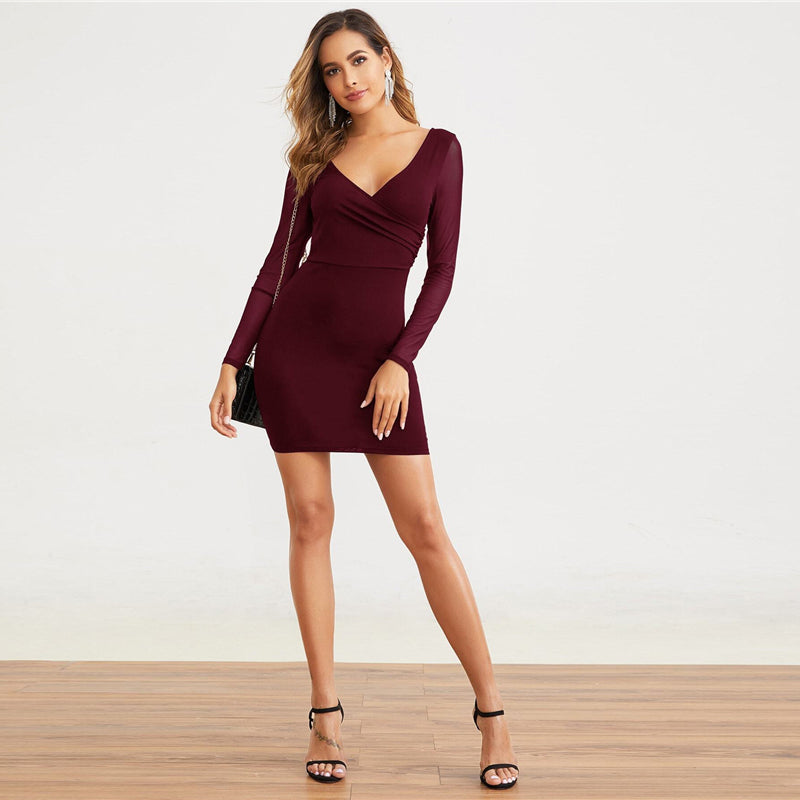 Chicago Mini Sexy Party Dress