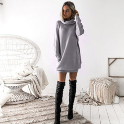 Whistler high collar long-sleeved Sweater