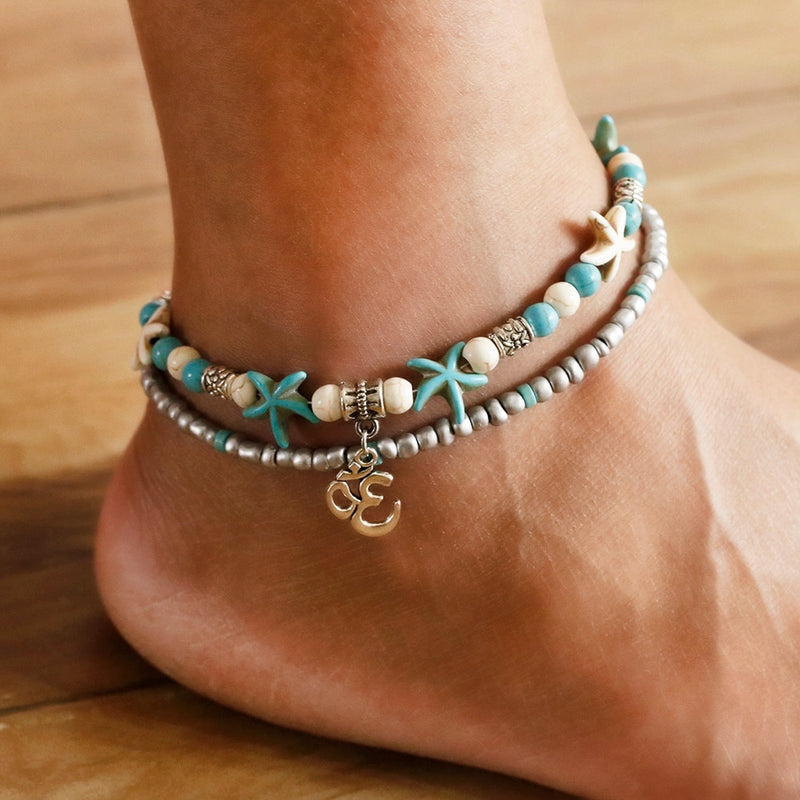 Marrakech Boho Foot Anklet