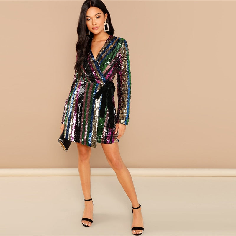 Bahamas Multicolor Party Dress