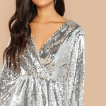 Dubai Silver Party Dress