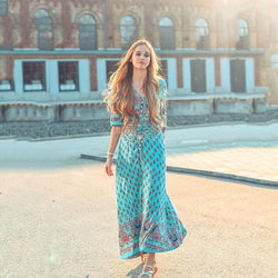 Zahara Boho Summer Dress