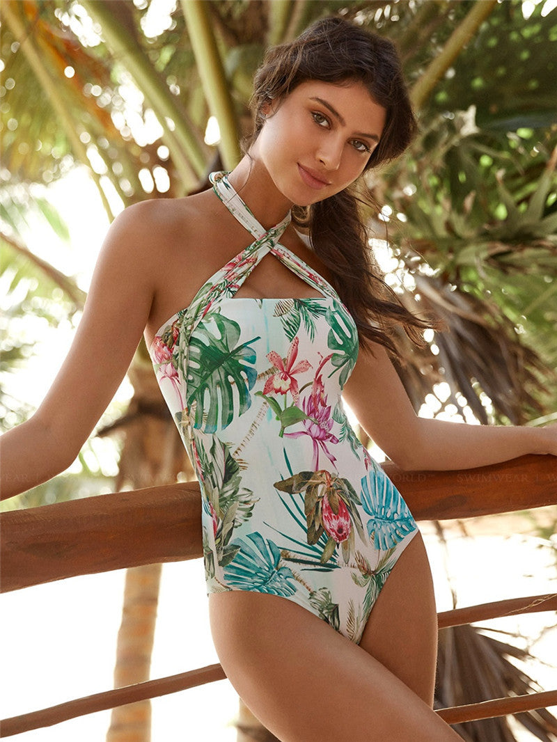 Sexy Tropical One Piece