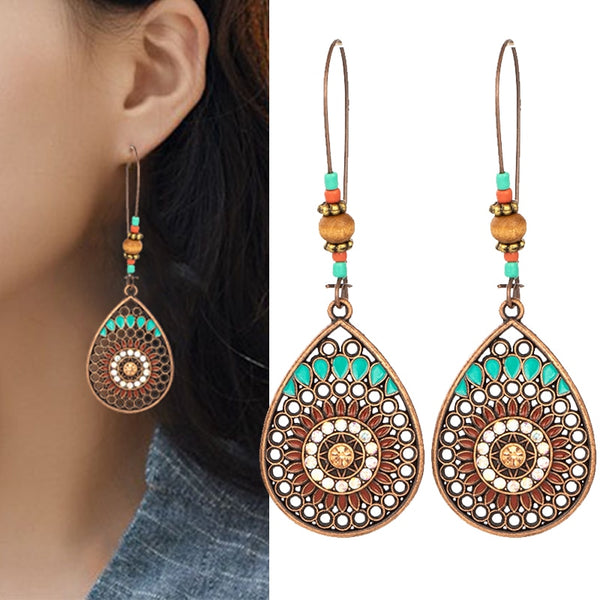 Boho Water Drop Earring