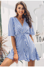 Dubrovnik Vintage striped dress