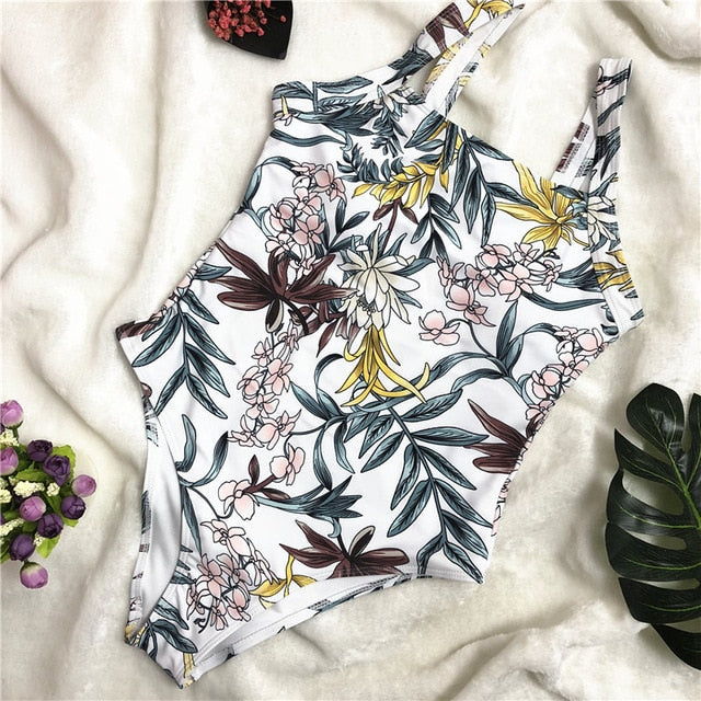 Floral Print Iconic One Piece
