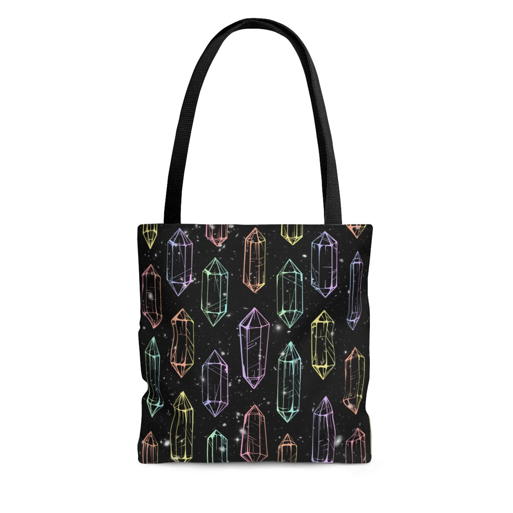 Crystal Galaxies (Outlines) Tote Bag