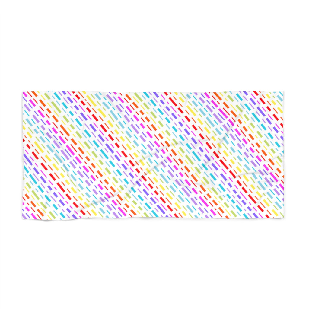Cartographic Rainbow Beach Towel