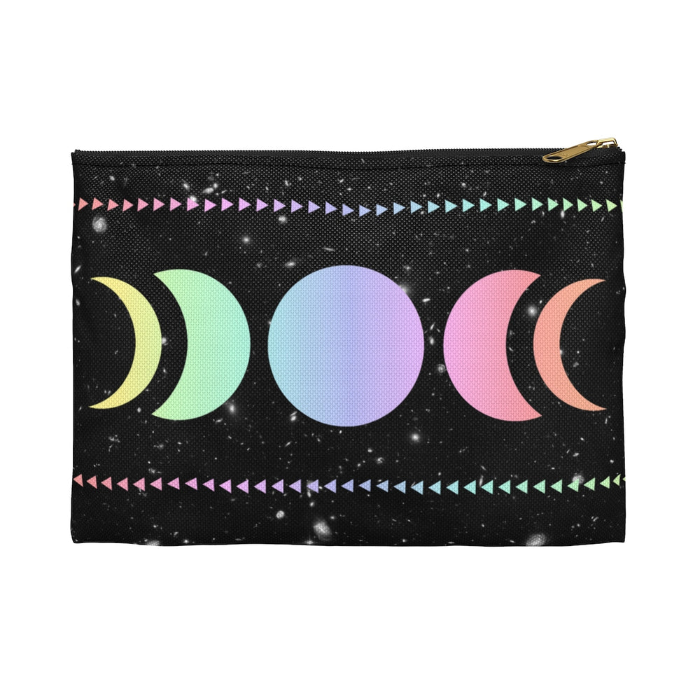 Moon Magic Flat Accessory Pouch