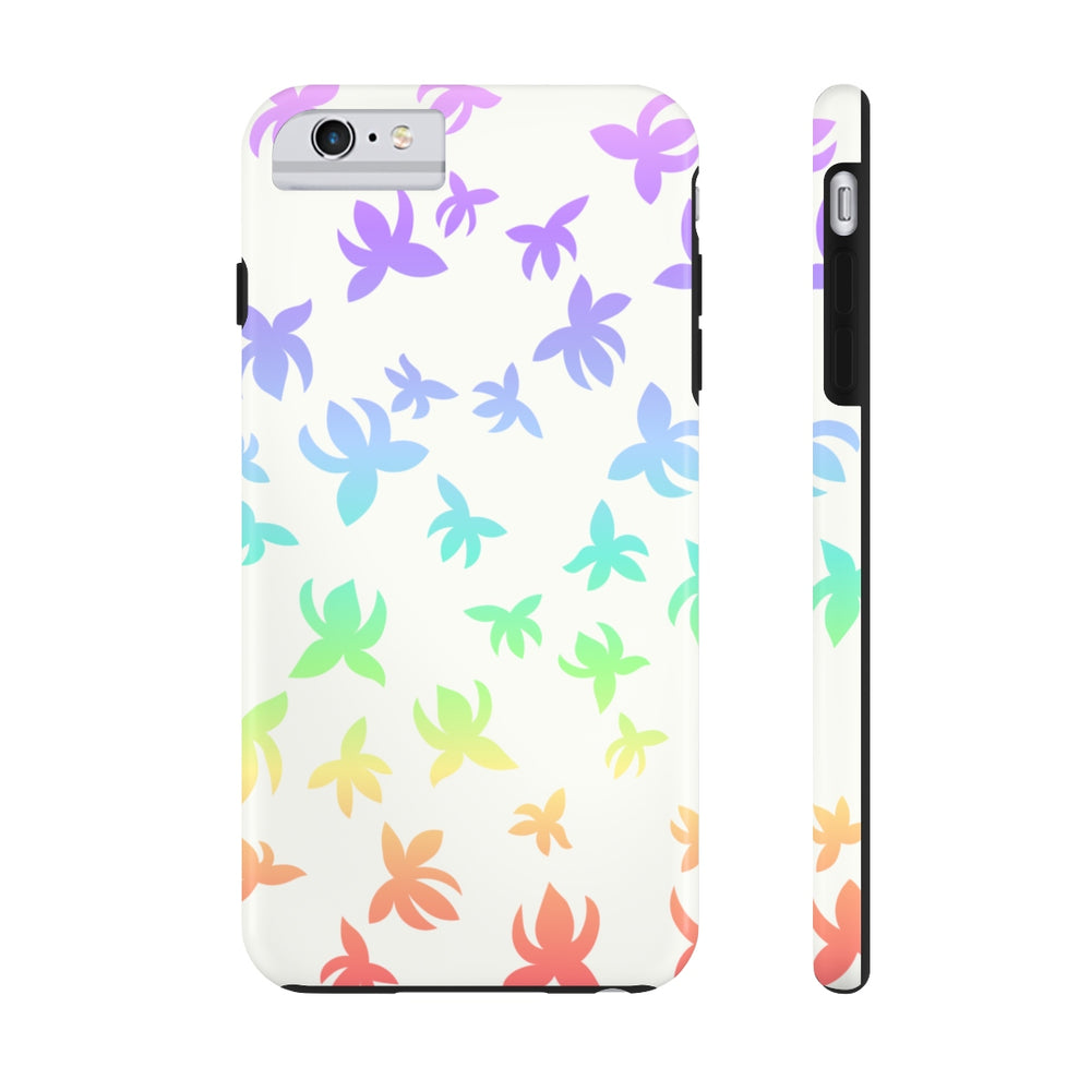 Falling Lotus Pastel Rainbow Case Mate Tough Phone Cases