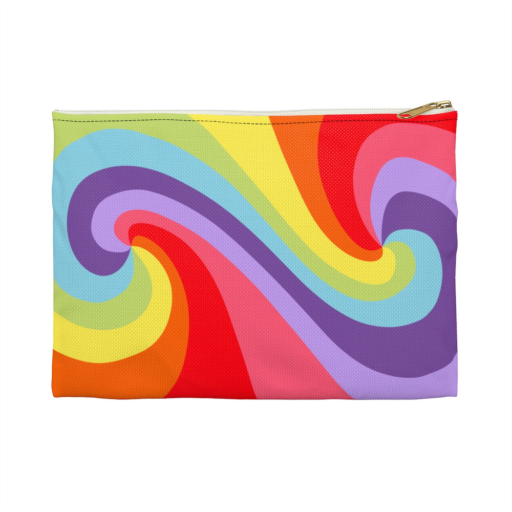 visionary-aesthetic - Color Tao (Original) Flat Accessory Pouch - Printify - Bags