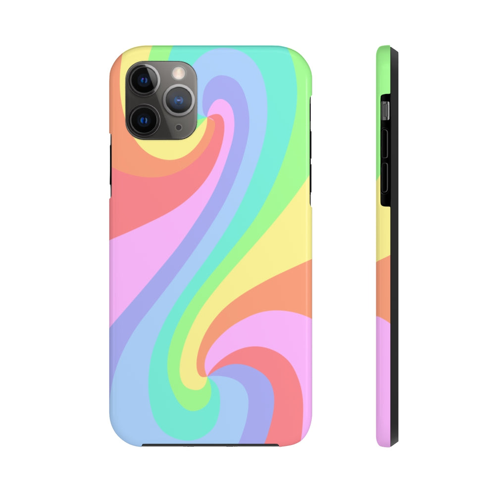Color Tao Pastel Rainbow Case Mate Tough Phone Cases