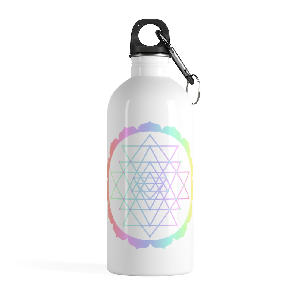 Sri Yantra Stainless Steel Water Bottle