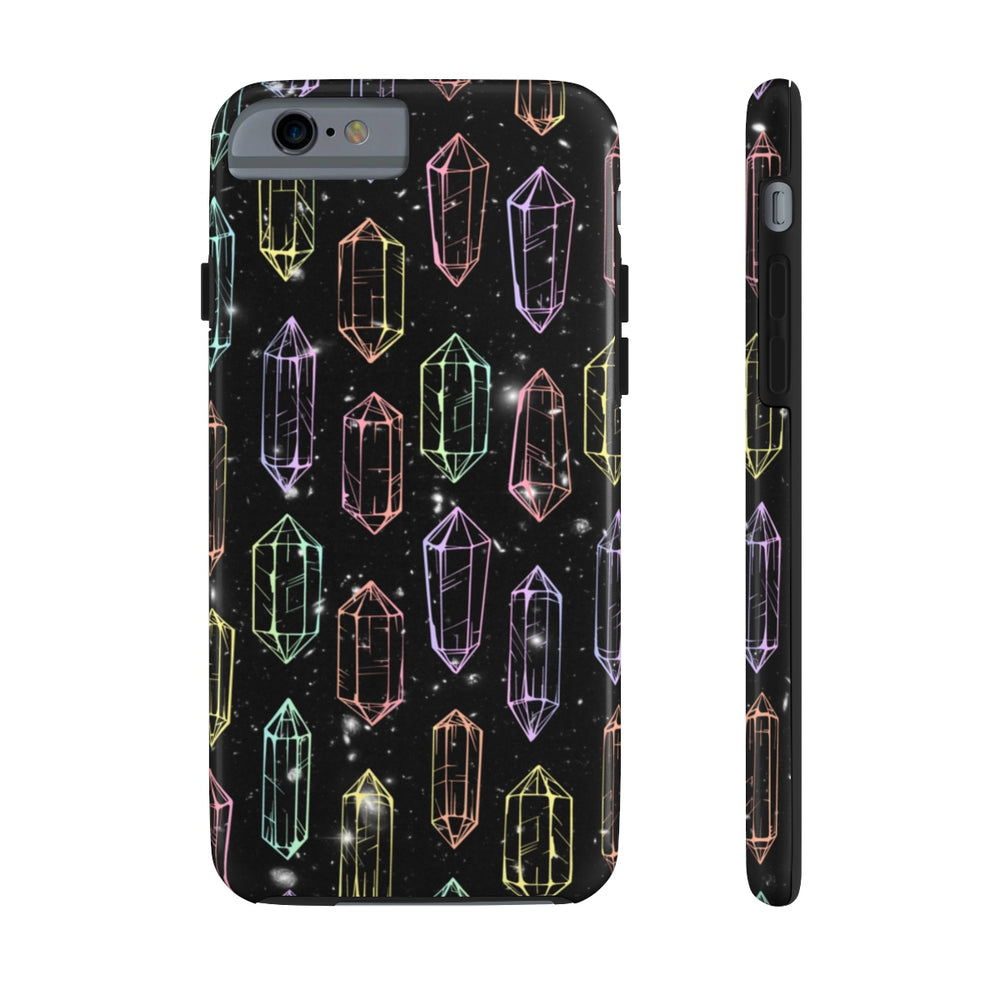 Crystal Galaxies (Outline) Case Mate Tough Phone Case