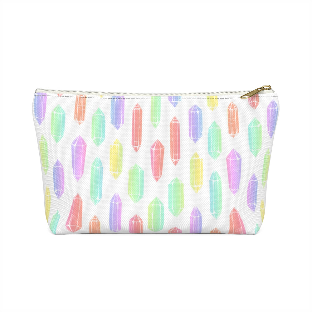 Watercolor Crystals Makeup Bag