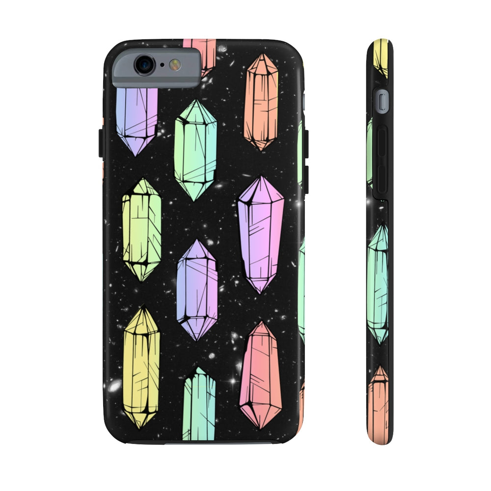 Crystal Galaxies (Solid) Case Mate Tough Phone Case