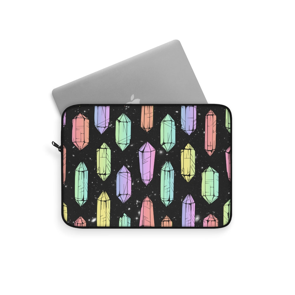 Crystal Galaxies (Solid) Laptop Sleeve