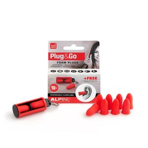 Alpine Plug & Go Earplugs - 10 Sets - Downtown Music Sydney