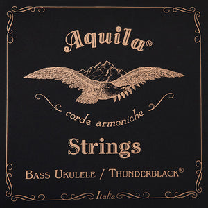 Aquila Thunderblack Bass Ukulele Strings