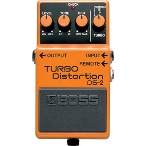 BOSS DS-2 Turbo Distortion Pedal - Downtown Music Sydney