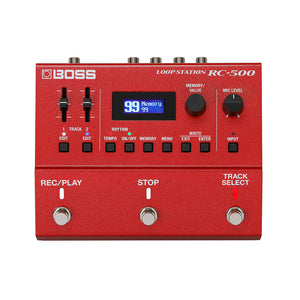 BOSS RC-500 Loop Station Looper Pedal
