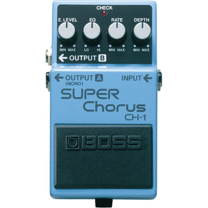 BOSS CH-1 Super Chorus Pedal - Downtown Music Sydney