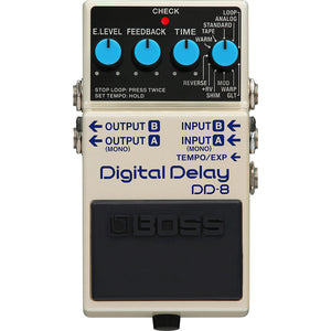 BOSS DD-8 Digital Delay Pedal - Downtown Music Sydney