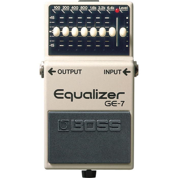 BOSS GE-7 Graphic Equalizer EQ Pedal