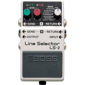 BOSS LS-2 Line Selector Pedal - Downtown Music Sydney