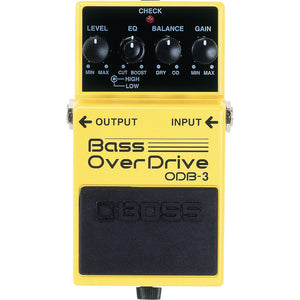 BOSS ODB-3 Bass Overdrive Pedal - Downtown Music Sydney