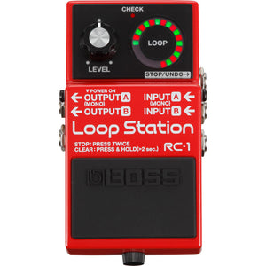 BOSS RC-1 Loop Station Looper Pedal - Downtown Music Sydney