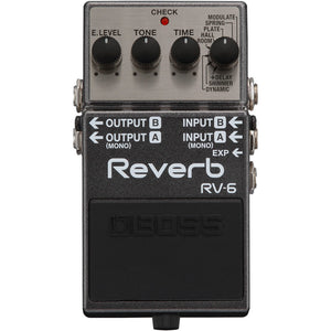 BOSS RV-6 Reverb Pedal - Downtown Music Sydney