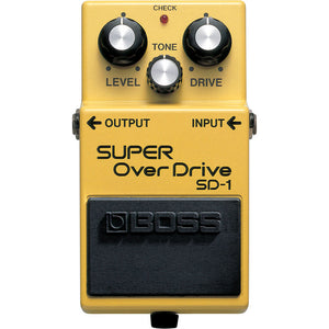 BOSS SD-1 Super Overdrive Pedal - Downtown Music Sydney
