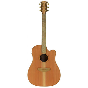 Cole Clark FL2EC-RDBL Redwood/Blackwood Acoustic/Electric Guitar