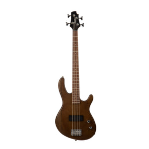 Cort Action Junior Short Scale Bass - Open Pore Walnut